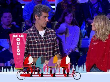 """Jorge Fernández bromea: """"En Navidad está muy feo robar regalos"""""""