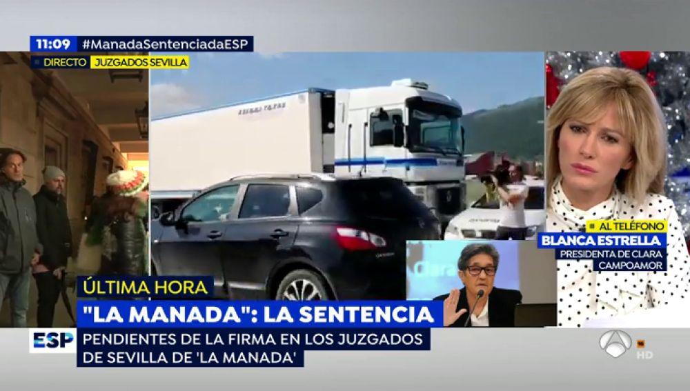 """La asociación Clara Campoamor, indignada con la sentencia de La Manada: """"Allí hubo violación anal, bucal y vaginal"""""""