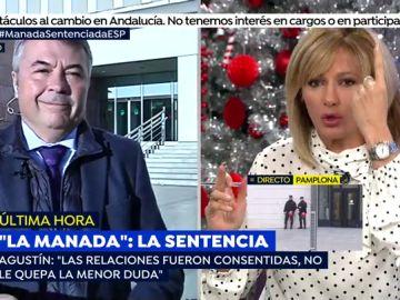 Agustín Martínez, abogado de La Manada.