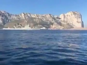"""Defensa resta importancia al incidente de la patrullera con el himno frente a Gibraltar: """"No sé cuál es la polémica"""""""