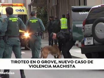Un hombre se atrinchera en una vivienda de O Grove tras presuntamente disparar a su pareja