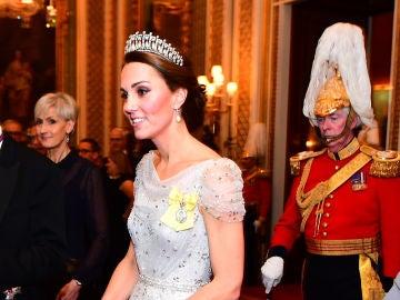 Kate Middleton se vistió de princesa Disney para una cena de gala en Buck