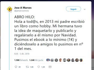 Hilo de twitter de José Antonio Marcos