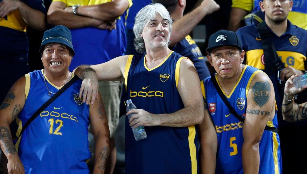 Rafael Di Zeo, líder de los 'barras bravas' de Boca Juniors
