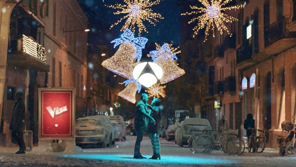 Así es la nueva campaña de Navidad de Antena 3