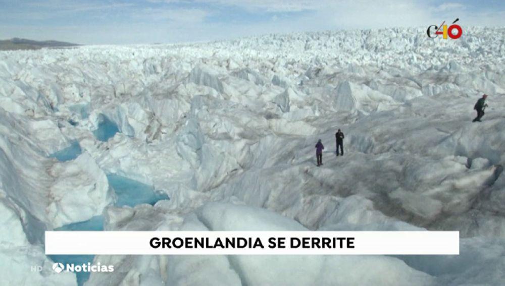 La capa de hielo de Groenlandia se derrite a gran velocidad que hace 30 años