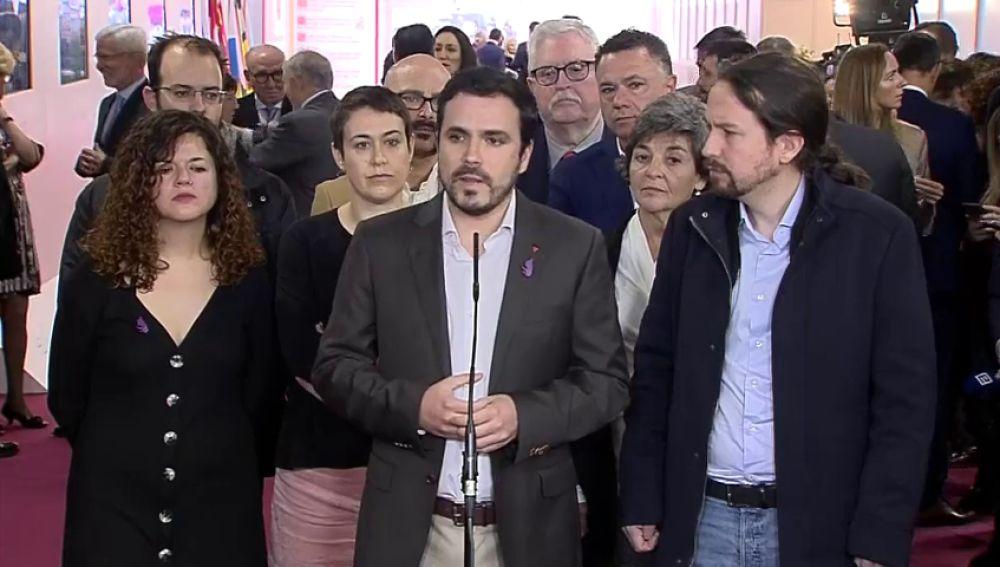 IU y PCE se querellan contra el Rey Juan Carlos por constitución de grupo criminal y la comisión de hasta 13 delitos