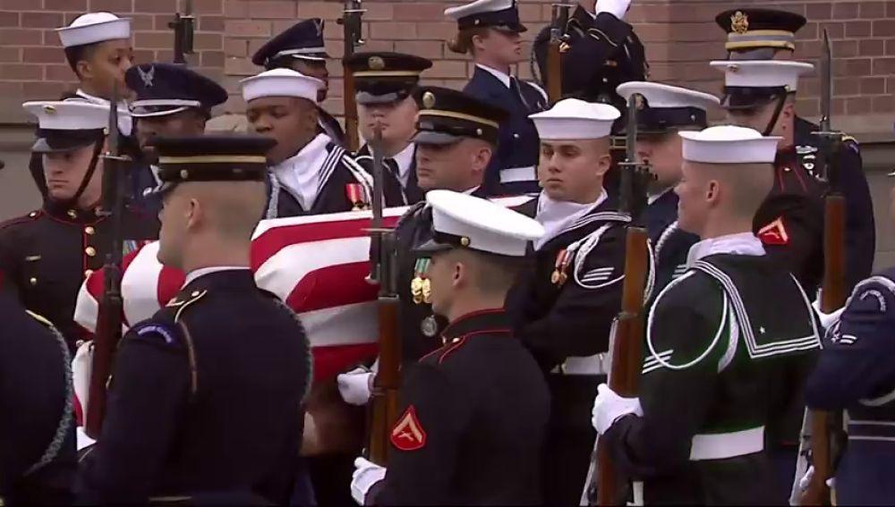 George H.W. Bush descansa junto a su familia tras una despedida íntima en Texas
