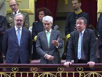 Los hijos de Adolfo Suárez y Carrillo, juntos en el Congreso