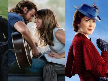 'La Favorita', 'Ha nacido una estrella' y 'El regreso de Mary Poppins', nominadas a los Globos de Oro 2019