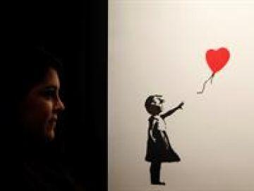 La 'niña con globo' de Bansky (06-12-18)