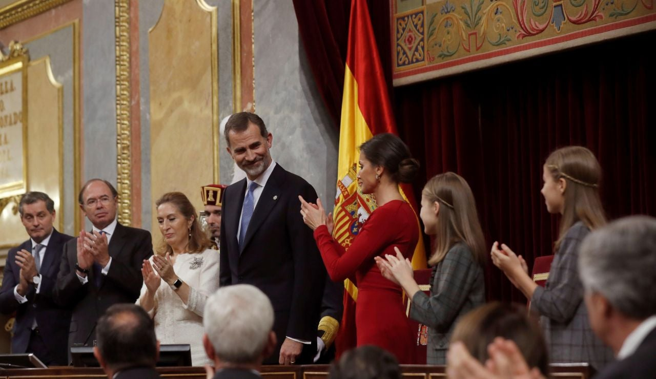 El Rey Felipe VI, en el Congreso de los Diputados