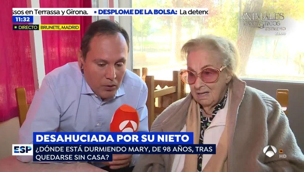 Mary, la anciana desahuciada