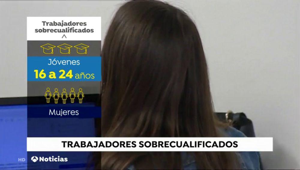La sobrecualificación supone un problema a la hora de encontrar trabajo en España