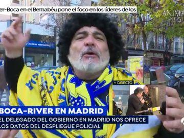 Los aficionados de Boca y River aseguran que los hinchas serán pacíficos en la Copa Libertadores