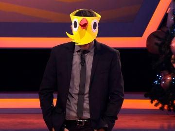 Juanra Bonet protagoniza uno de los momentos más divertidos en '¡Boom!' convertido en pollo