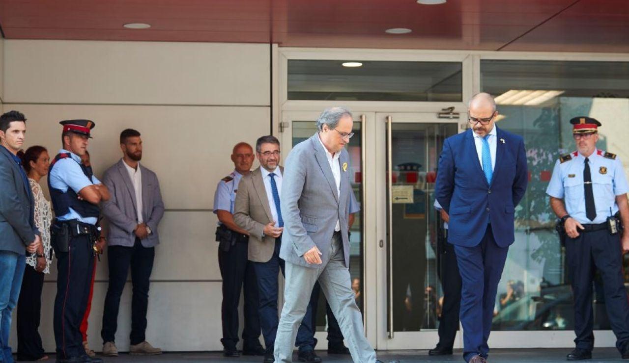 laSexta Noticias 20:00 (07-12-18) Crisis en el Govern por las cargas de los Mossos en Girona y Terrasa que ponen el foco sobre el papel de Miquel Buch
