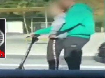 Multa patinete eléctrico