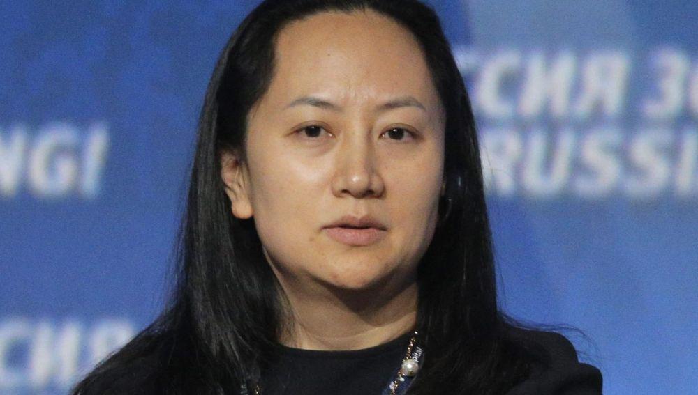 Meng Wanzhou, vicepresidenta de Huawei.