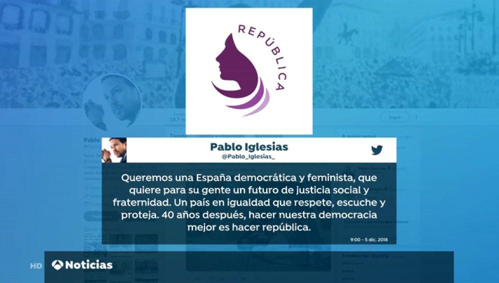 El nuevo logo de Podemos es el mismo de una cadena de peluquerías