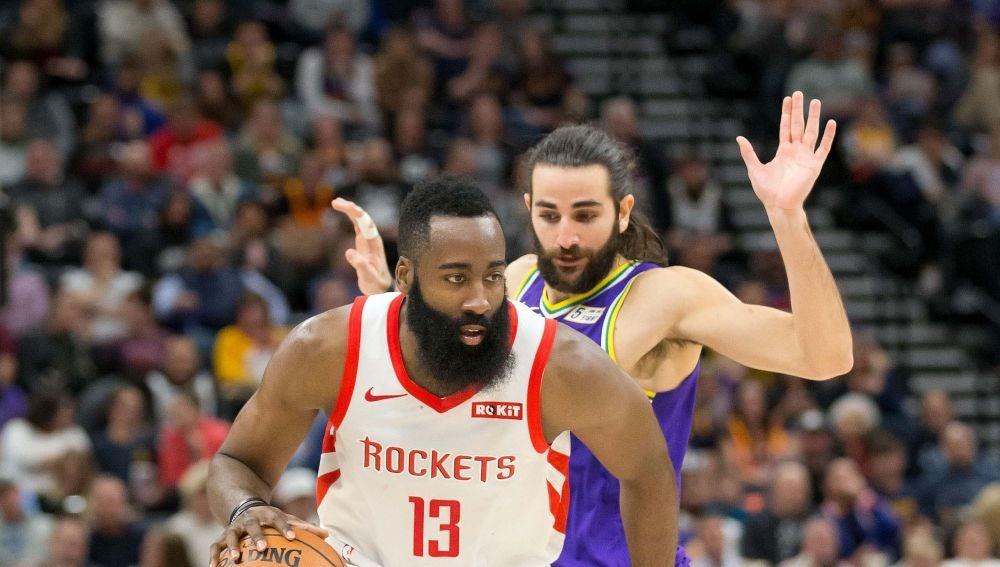 Los Utah Jazz de Ricky Rubio se imponen a los Houston Rockets