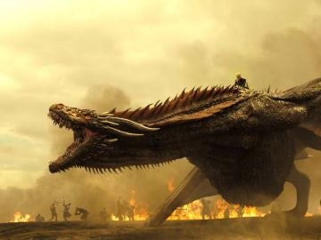 Drogon y Daenerys en 'Juego de Tronos'