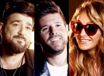 Paulina Rubio, Luis Fonsi, Pablo López y Antonio Orozco confiesan qué canción elegirían si se presentaran a 'La Voz'