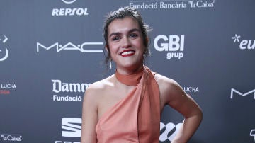 Amaia Romero en la gala 'People in red'