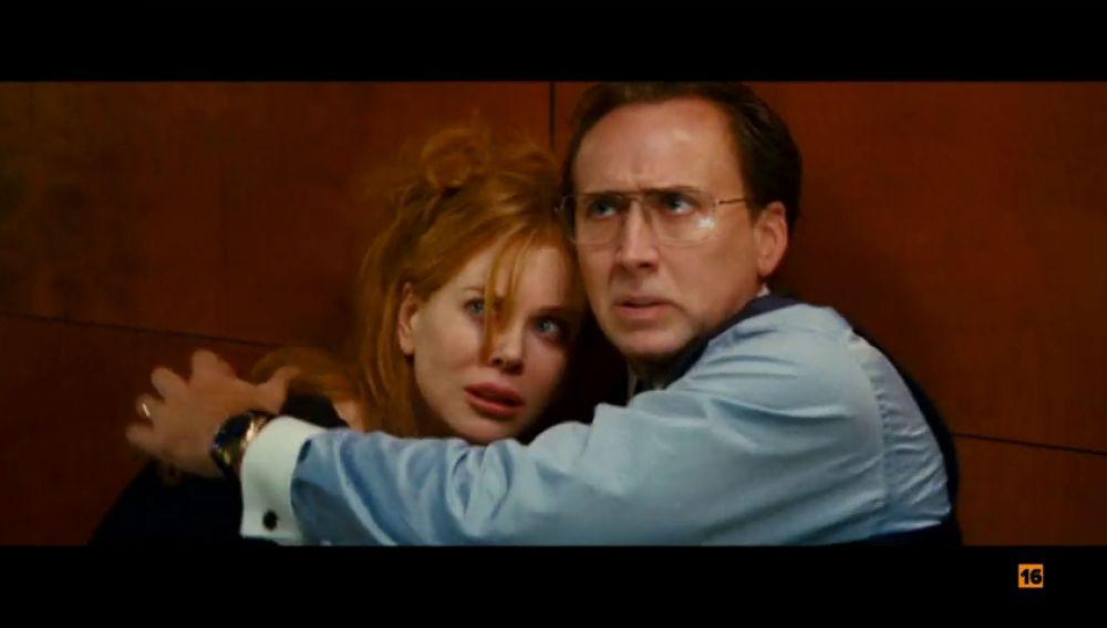 Antena 3 emite 'Bajo amenaza' con Nicole Kidman y Nicolas Cage