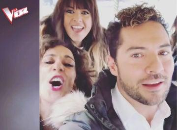 La desternillante versión de Vanesa Martín, David Bisbal y Rosario Flores de 'Hola mi amor' de El Junco
