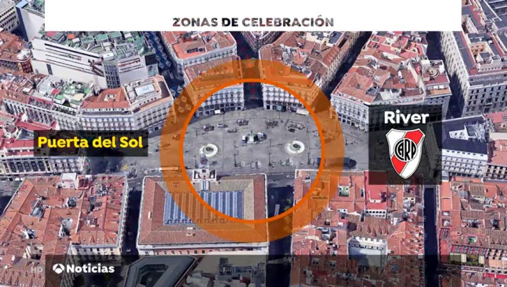Gran despliegue de medidas de seguridad en Madrid por el partido Boca-River