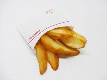 Este es el número de patatas fritas que puedes comer.