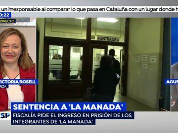 """La dura respuesta del abogado de 'La Manada' a Victoria Rosell: """"La frase """"yo sí te creo"""" es un eslogan feminista que no puede tener la consideración de entrada en el Tribunal"""""""