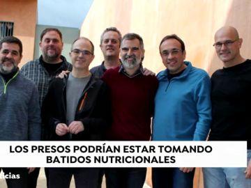 Los políticos catalanes presos
