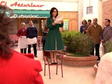 Manolita sorprende a todos con un gesto heróico