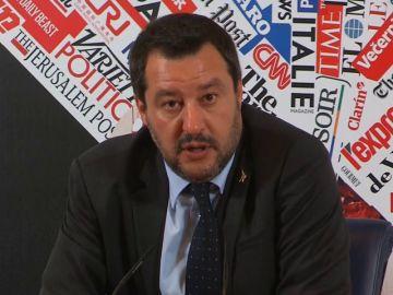 Salvini celebra la irrupción de VOX en Andalucía