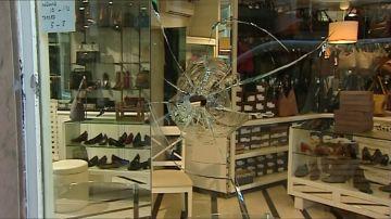 Espectacular robo en una tienda de lujo en Valencia