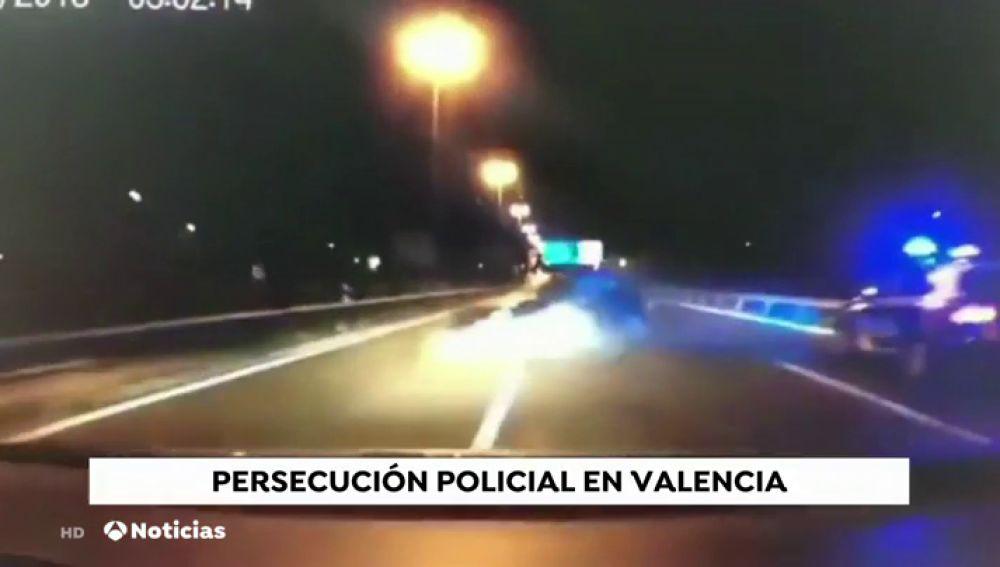 Impresionante persecución en Valencia tras un atraco en una tienda de bolsos de alta gama