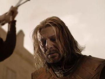 Ned Stark en el primer capítulo de 'Juego de Tronos'