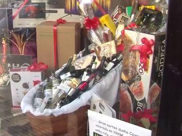 Sortean un 'autaúd navideño' valorado en 2.000 euros