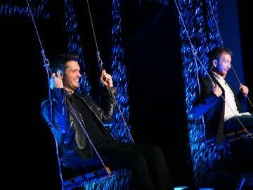 VÍDEO: Michael Bublé y Pablo Motos protagonizan el momento más romántico de la temporada de 'El Hormiguero 3.0'