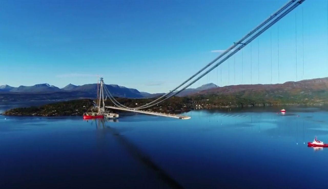 Halogaland, el segundo puente más largo de Noruega, abre sus puertas al tráfico