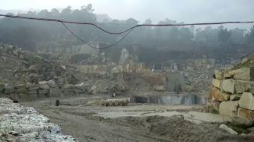 La Guardia Civil destruye 2.800 kilos de material pirotécnico ilegal en Tui