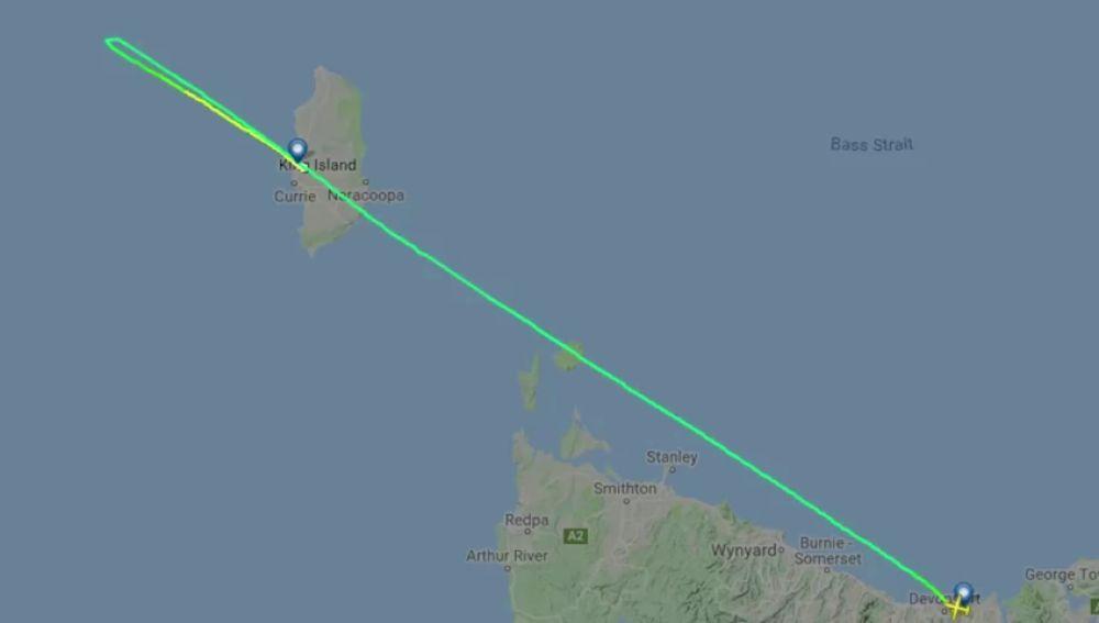 Un piloto se queda dormido en pleno vuelo y se pasa de su destino