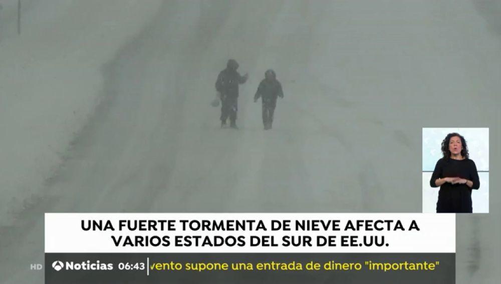 Tormenta de nieve EEUU