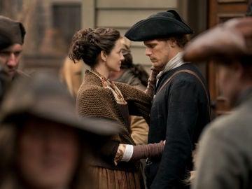 Los protagonistas de 'Outlander' en la cuarta temporada
