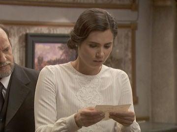 María recibe la dirección exacta del paradero de sus padres
