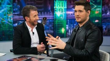 Michael Bublé asegura en 'El Hormiguero 3.0' que su banda sonora es buena para tener sexo