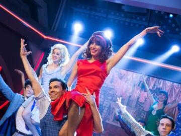 Pilar Rubio, con más ritmo que nunca, baila 'Mambo' junto a todos los bailarines de 'West Side Story'
