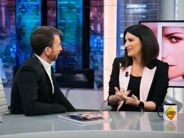 Laura Pausini desvela en 'El Hormiguero 3.0' los consejos que le da su hija de cinco años